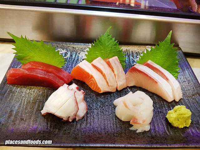 ichiro sushi bar sashimi