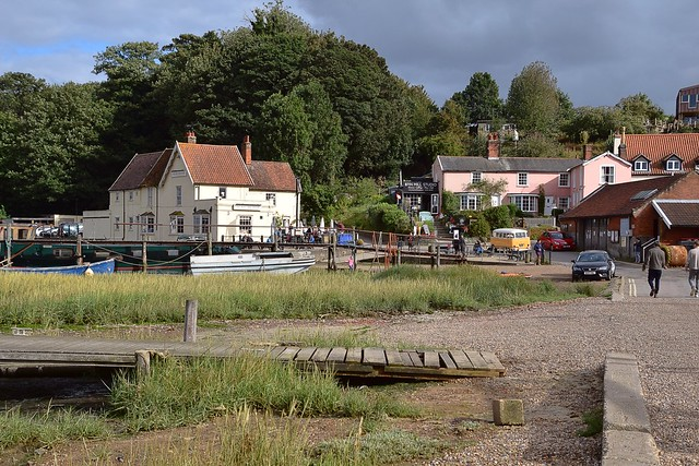 A summers day scene at Pin Mill, Suffolk. 30 08 2020