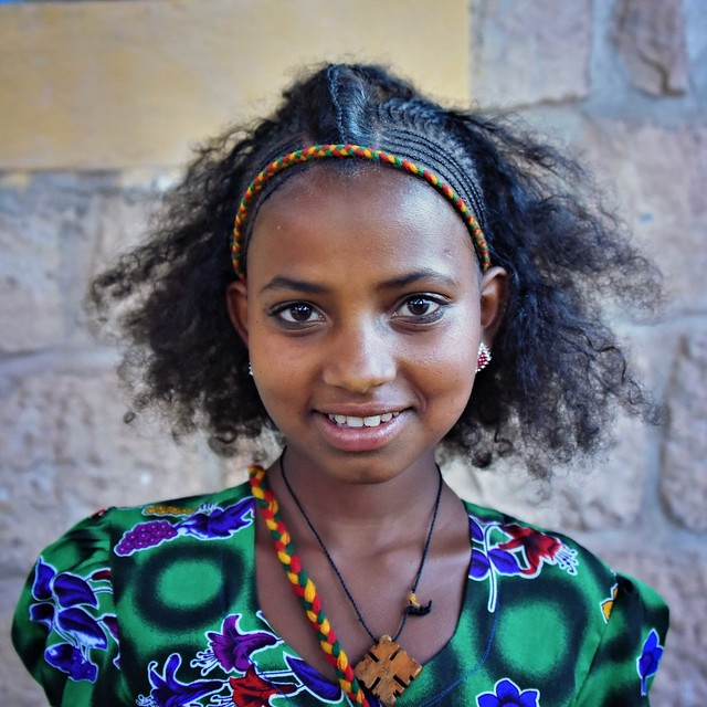 Tigrinya Girl, Ethiopia