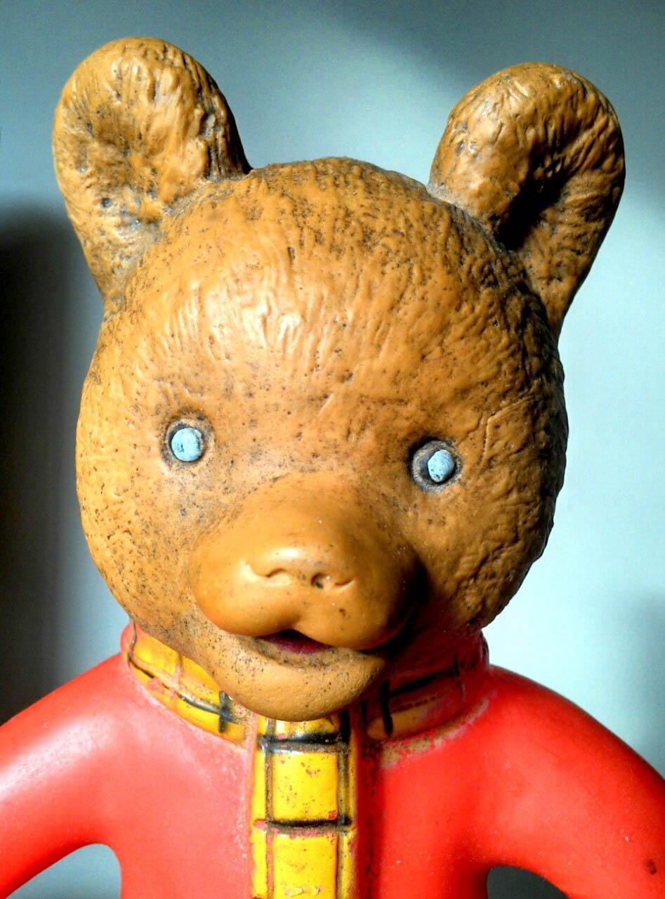 Rubert Bear is 35 years old