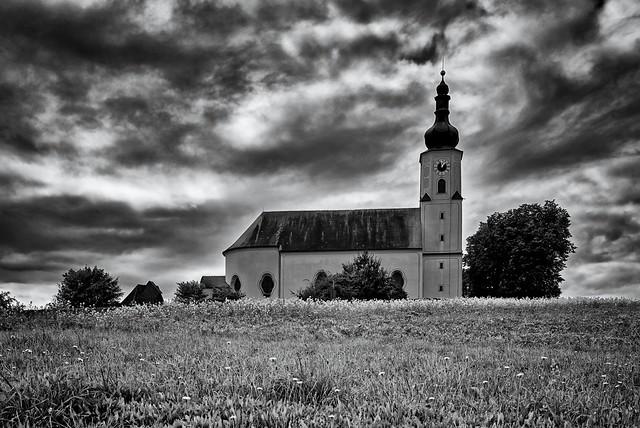 Kirche auf dem Hügel