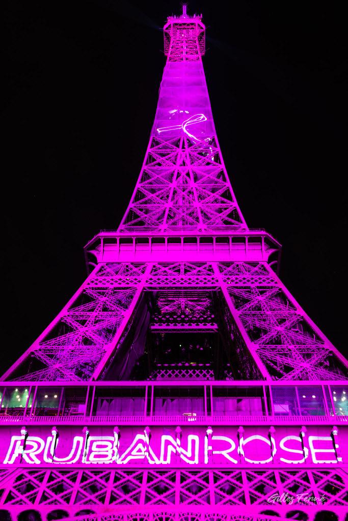 Octobre Rose, Eiffel Tower