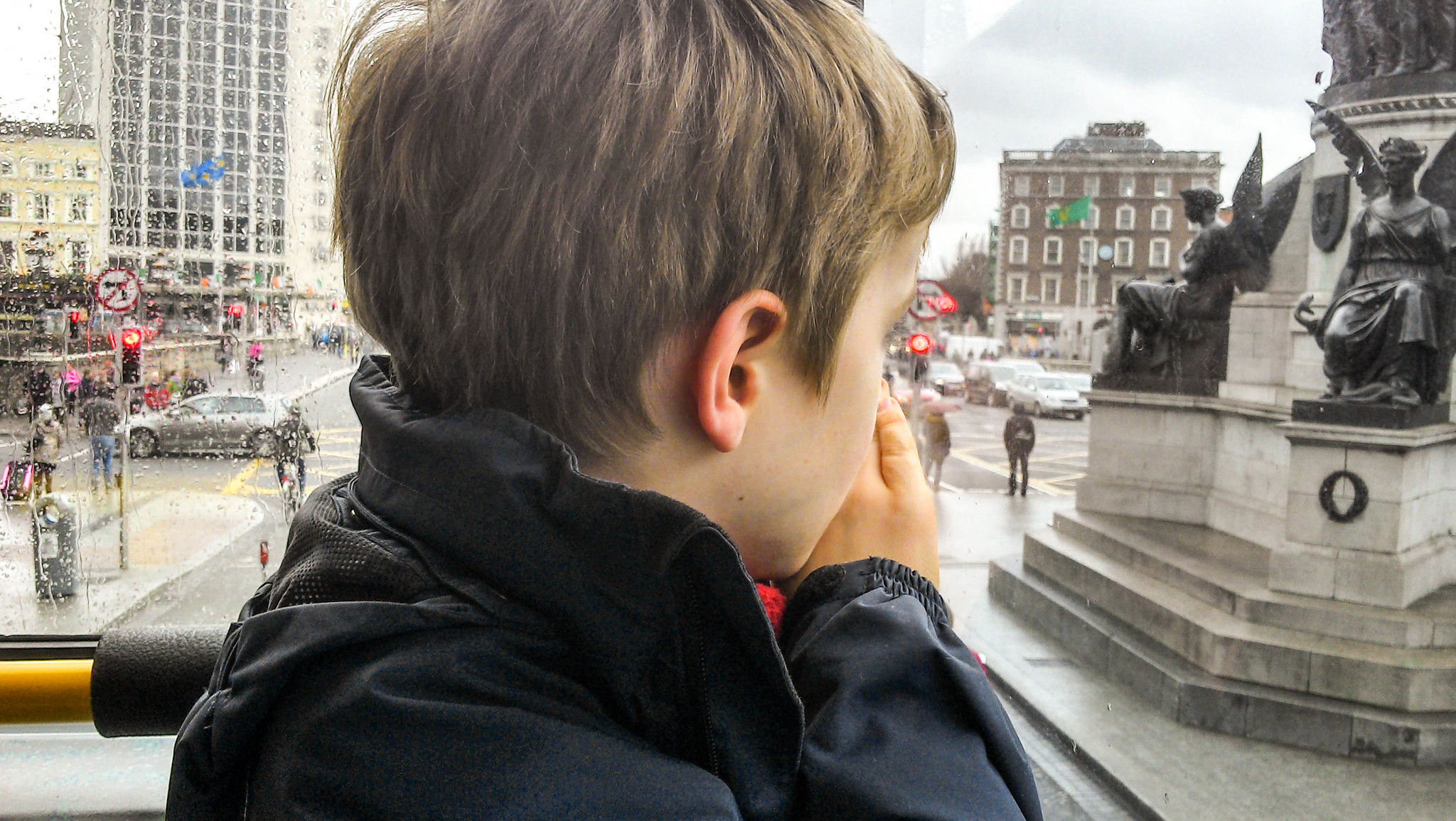 Child on Dublin Bus