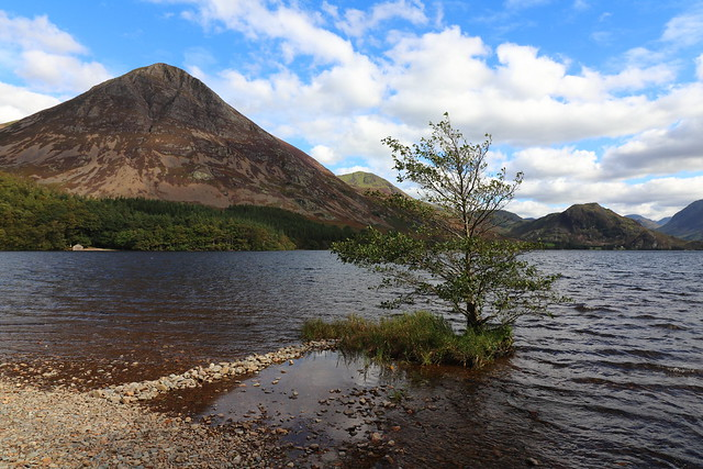 Grasmoor End and Rannerdale Knotts across Crummock Water, Cumbria