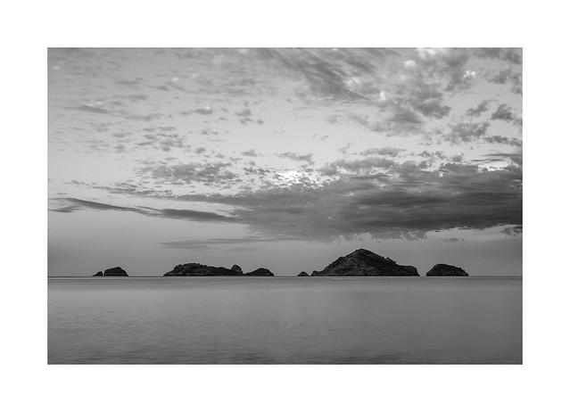 Delikli Islands at dawn...