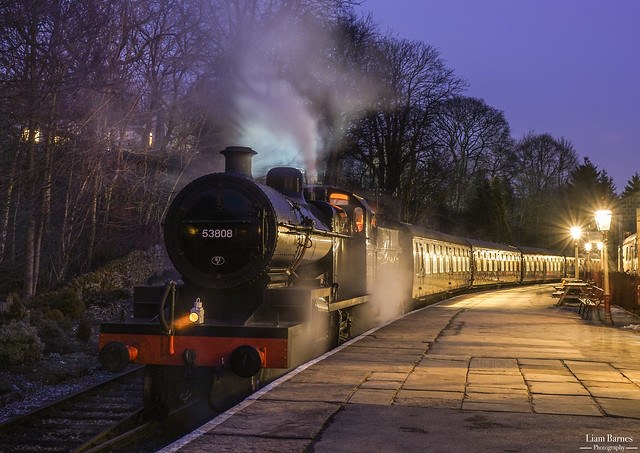 7F 53808 - Oxenhope Station