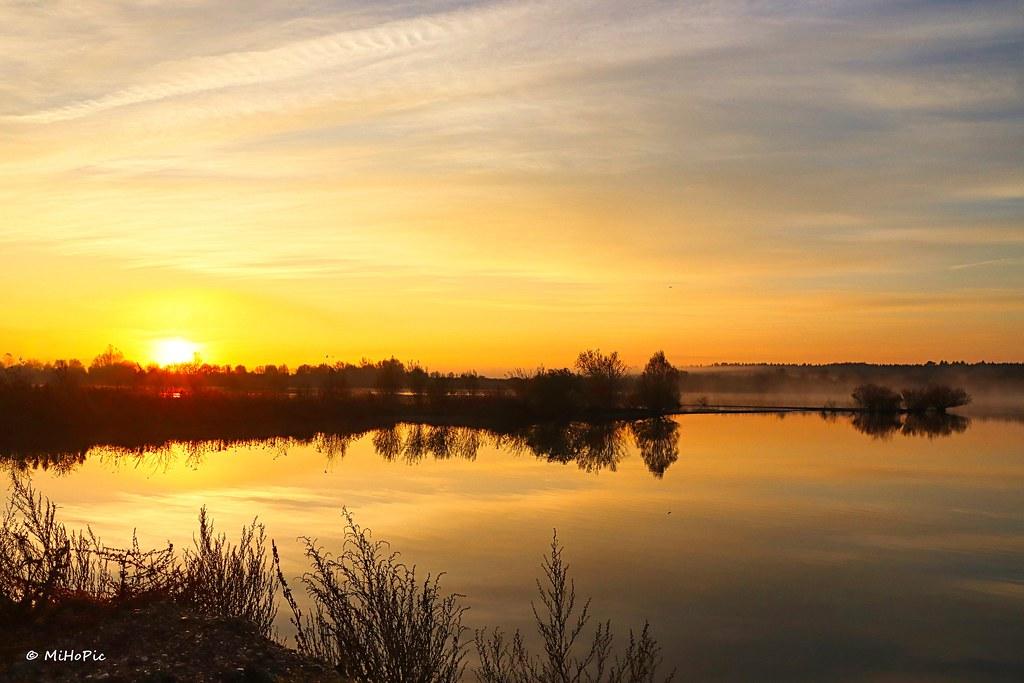 Sonnenaufgang am See (explore 07. Nov. 2020)