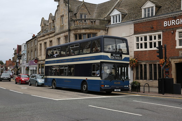 Delaine Buses of Bourne 135 Y8OCT