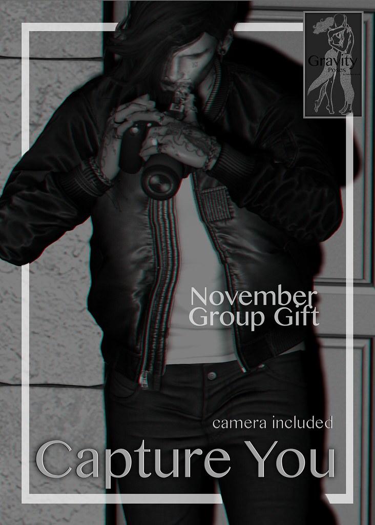 Gravity Poses – Nov Group Gift