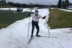 Reprezentanti v běžeckém lyžování odletěli za závěrečnou přípravou k polárnímu kruhu