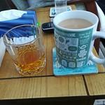 Tea & JD honey
