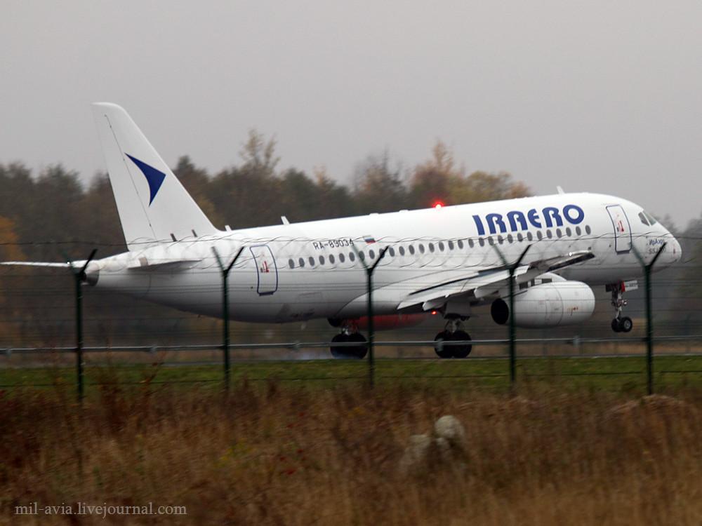 SSJ100 RA-89034 IrAero