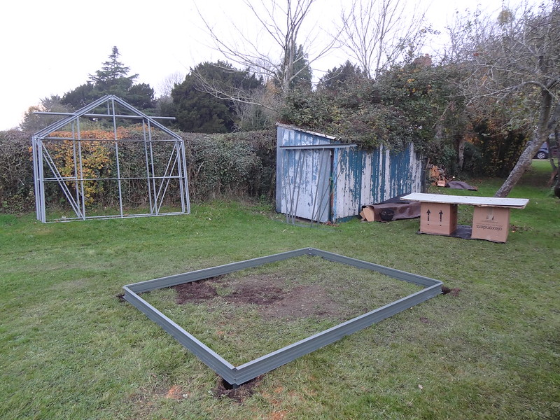 Greenhouse Construction, Part 1