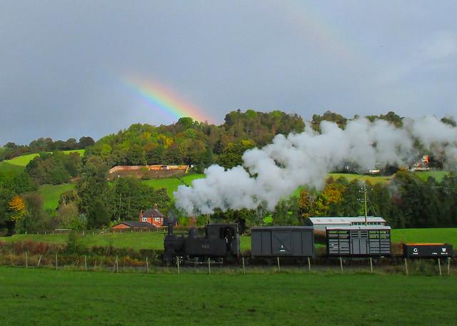 Rainbow At Cyfronydd