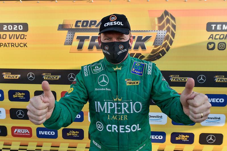 07/11/20 - Dia de definição do grid de largada da Copa Truck em Curitiba - Fotos: Duda Bairros