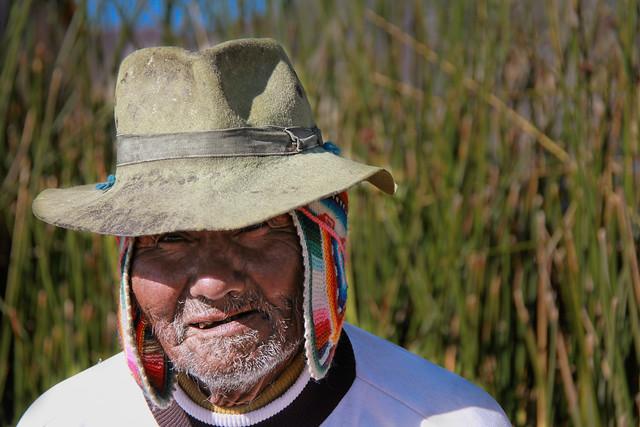Old Man in Peru