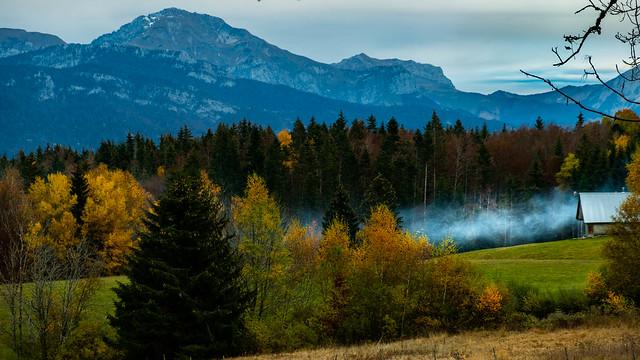 Alpes fumantes