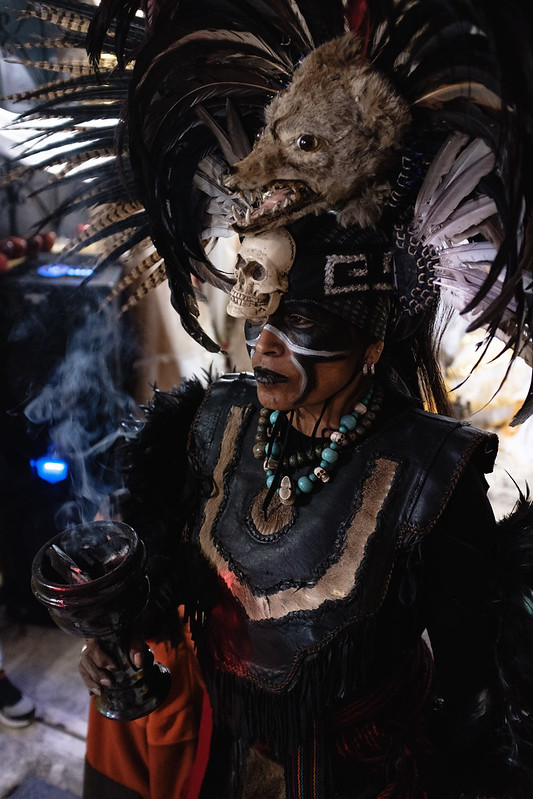 DSCF1944 - Danzante - Ceremonia Santa Muerte - Chimalhuacán por Ockesaid a.k.a Joel Lugo