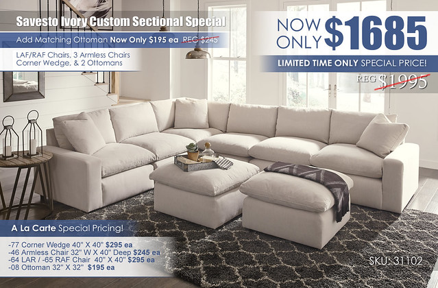 Savesto Ivory Custom Sectional_31102-64-46-77-46(2)-65-08(2)_2020update