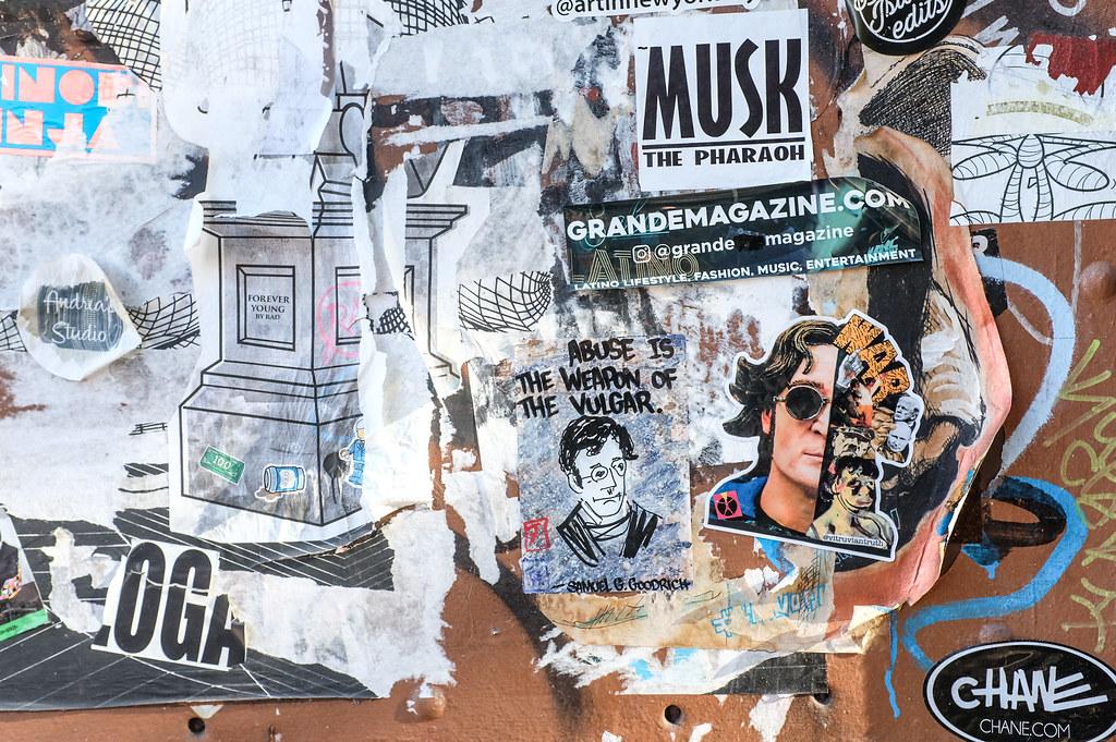 Walk In New York - 2019 - Brooklyn John Lennon