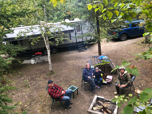 MacLeod PP - the high view of Kim and Diane camp