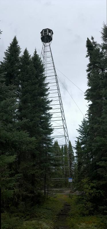Fushimi Lake PP - the fire tower
