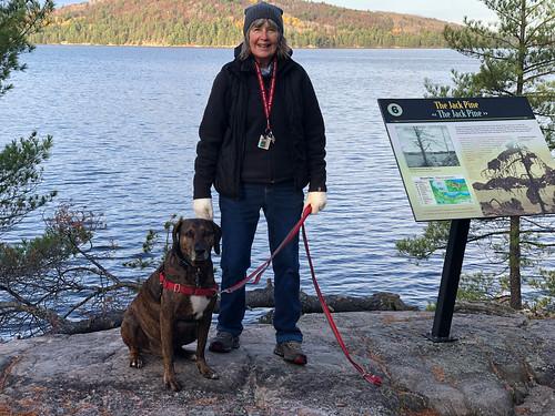Algonquin PP - Achray -Linda and Hector at the Jackpine site