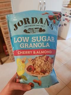 Jordan's Low Sugar Cherry and Almond Granola