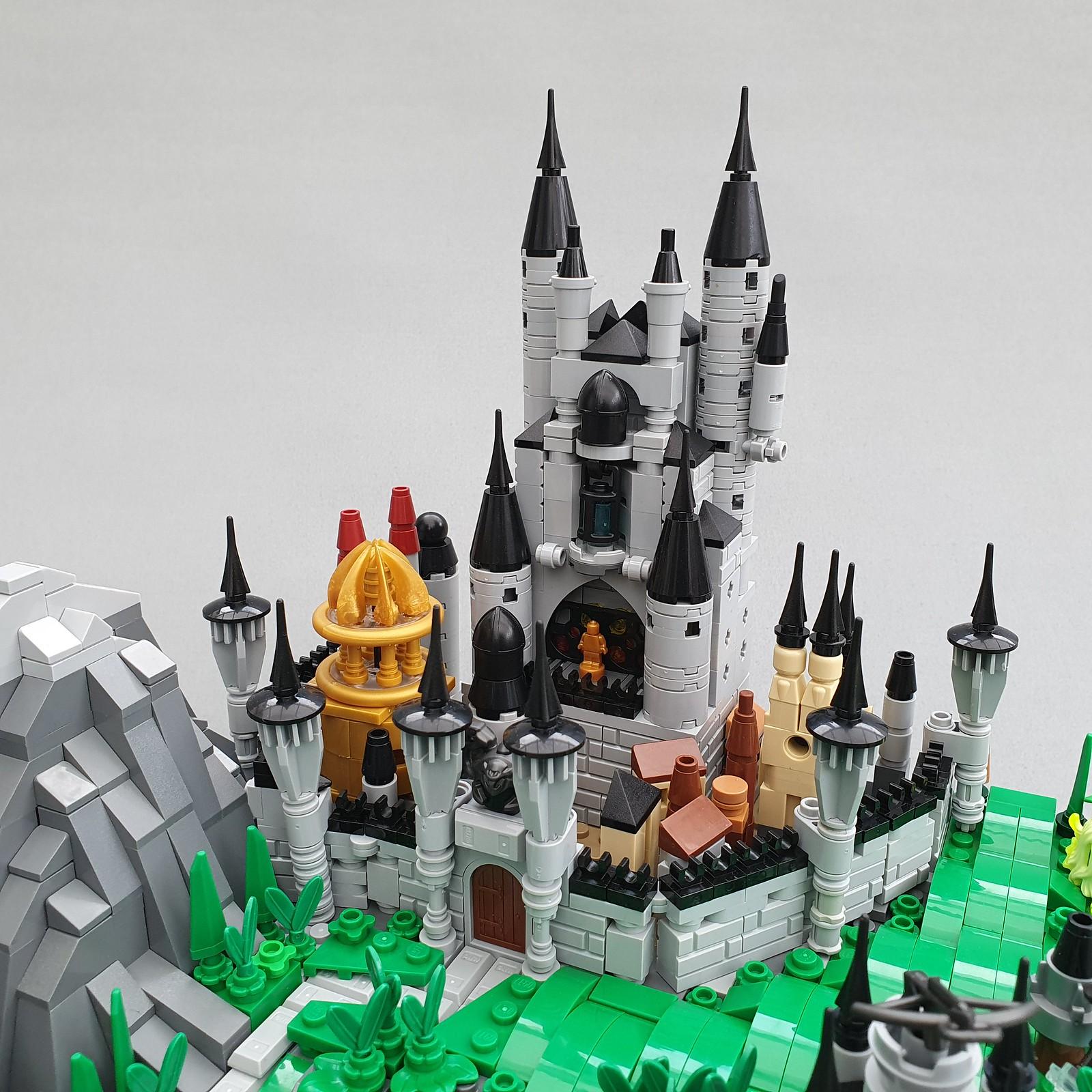 Lego Store Micro Fantasy Landscape