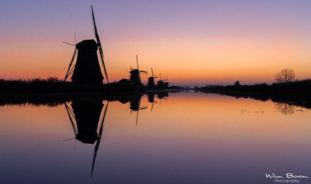 Early Mornings in Kinderdijk