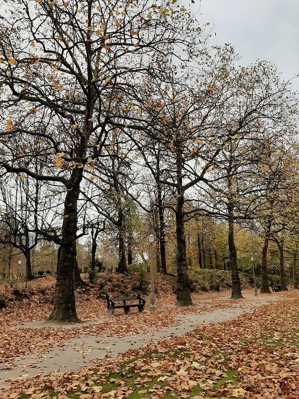 Caminos del Parc Royale