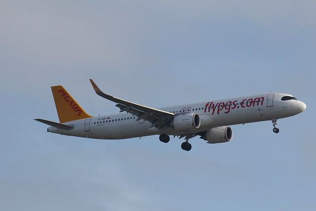 TC-RBB Airbus A321-251NX Pegasus