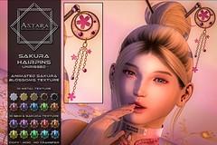 Astara - Sakura Hairpins Ad
