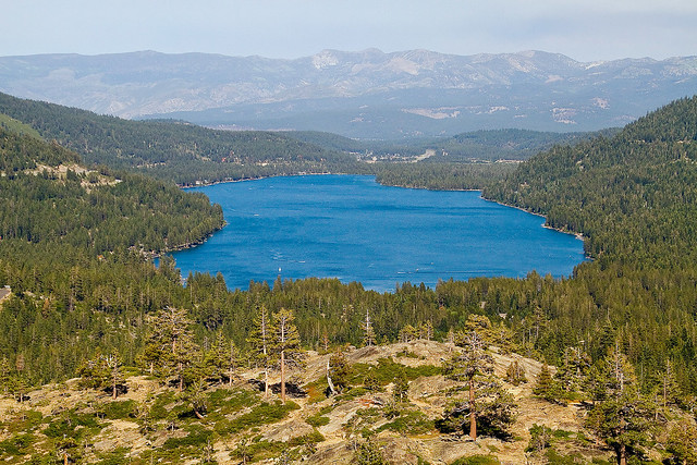 Donner Lake from Donner Pass Road