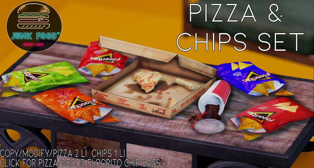 Junk Food – Pizza & Chips Set
