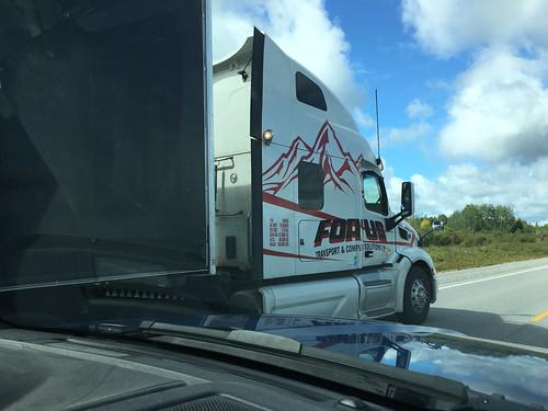Highway - Truck passing