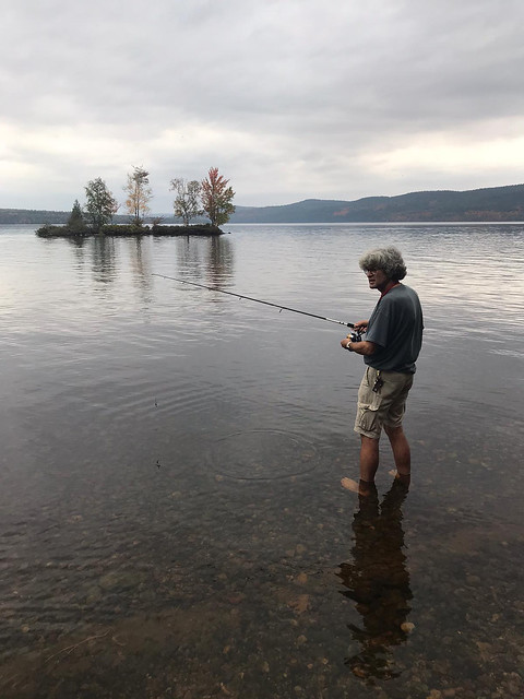 Driftwood PP - Pierre fishing