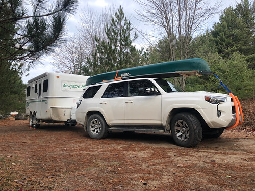 Algonquin PP - Achray -our rig ready to get back home