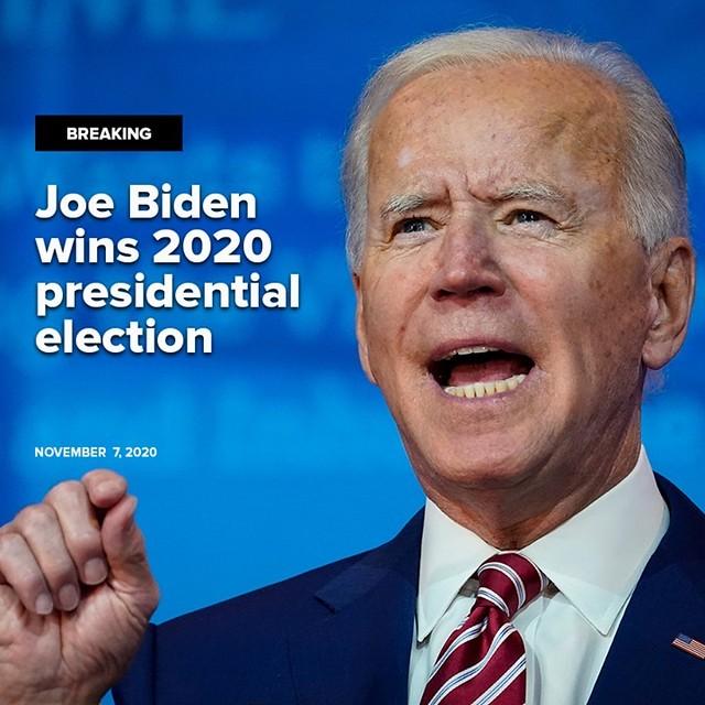 Joe Biden Sah Presiden Amerika Syarikat ke-46