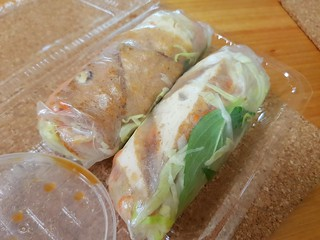 Rice Paper Rolls from Cafe O'Mai