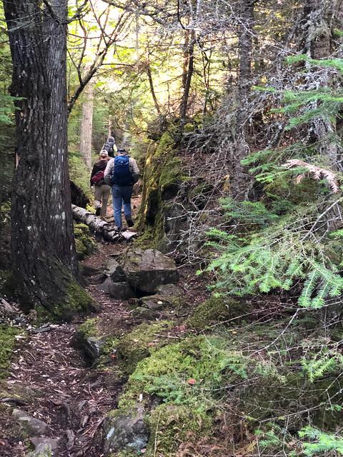 Sleeping Giant PP - a rocky hike