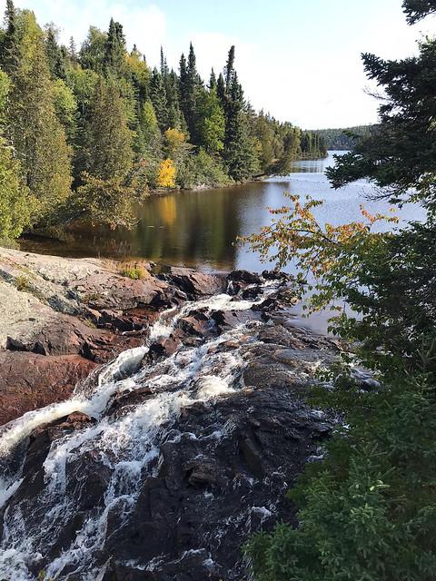Rainbow Falls - the falls