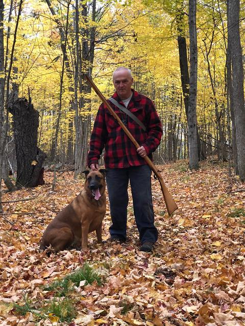 Lanark - Scott and Winnie and the musket