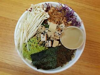 Signature Tofu Bowl from Cheeky Poke
