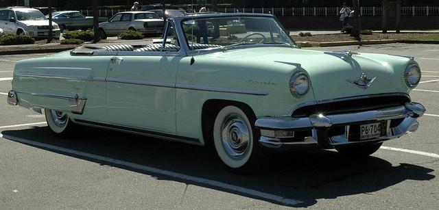 1954 Lincoln Capri Convertible