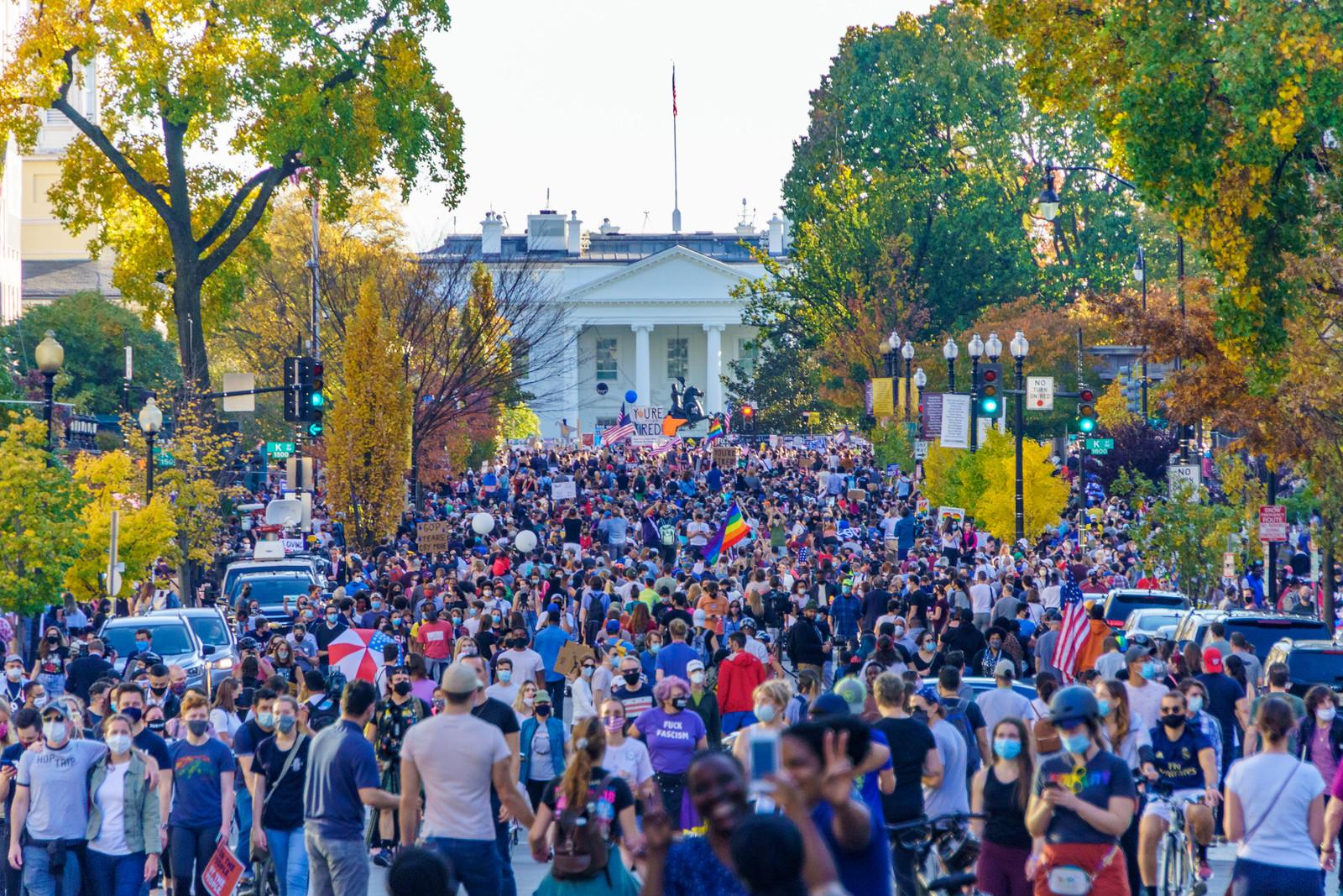 2020.11.07 Celebrating, Washington, DC USA 312 150280
