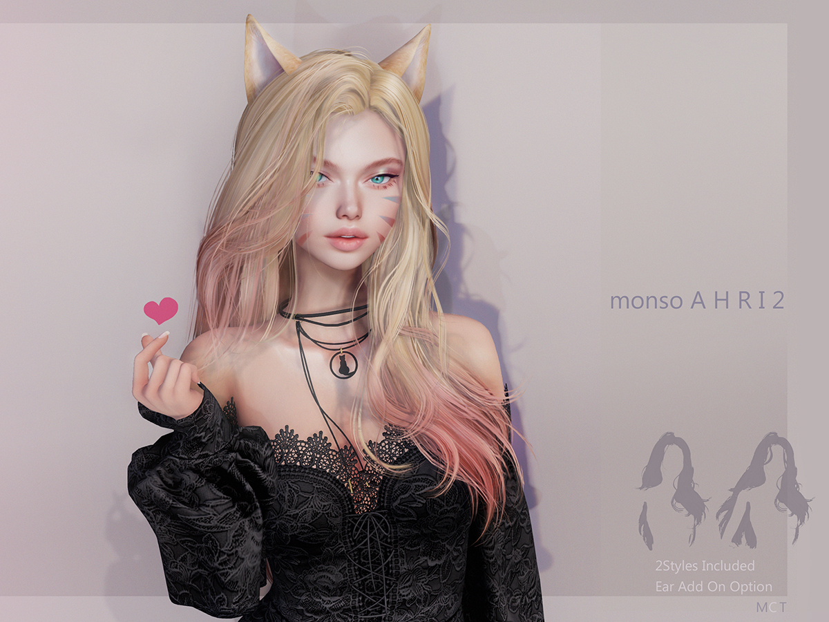 [monso] Ahri2 Hair