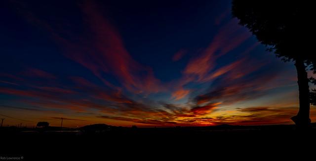 Sunrise 08/11/2020 Looking Direction Mazarron Spain