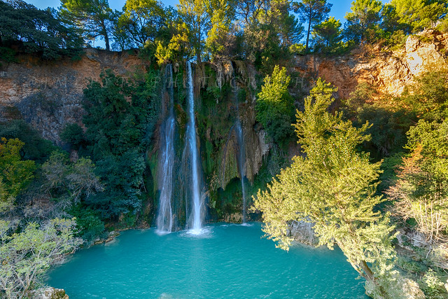Sillans-La-Cascade, a haven of freshness in Provence, on the Côte d'Azur -3D0A7379