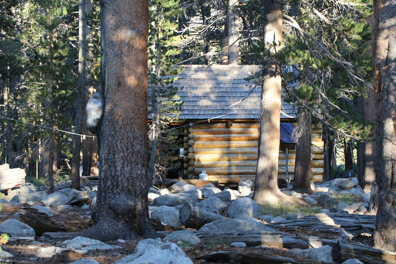 After dinner, we took a walk to the Rock Creek Ranger Cabin and spoke to the ranger for a short while - nice guy!